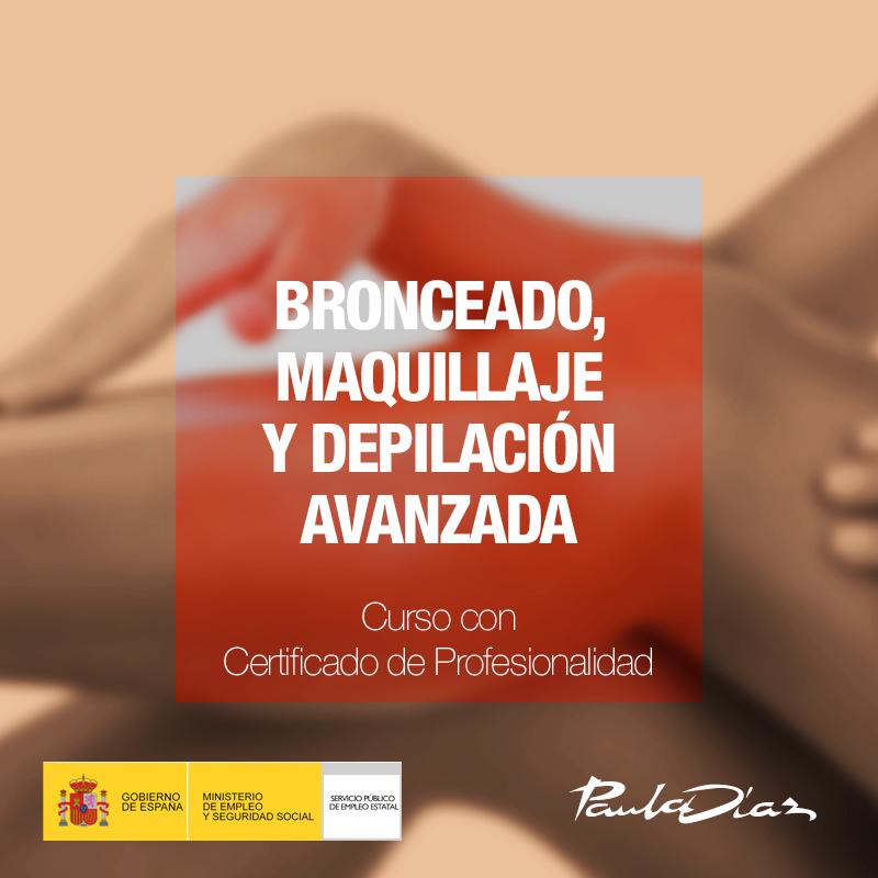 Curso Bronceado, maquillaje y depilación avanzada Paula Díaz