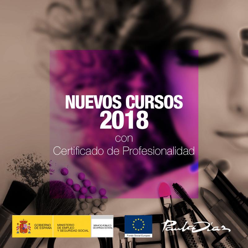 Nuevos Cursos 2018 con Certificados de Profesionalidad