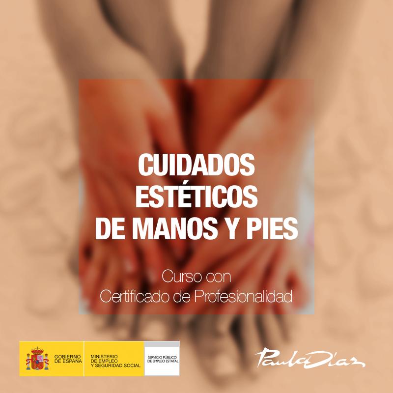 Curso cuidados estéticos de manos y pies Paula Díaz