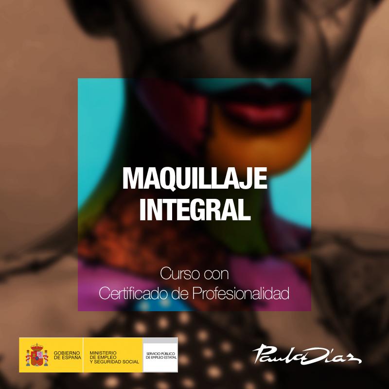 Curso maquillaje integral Paula Díaz