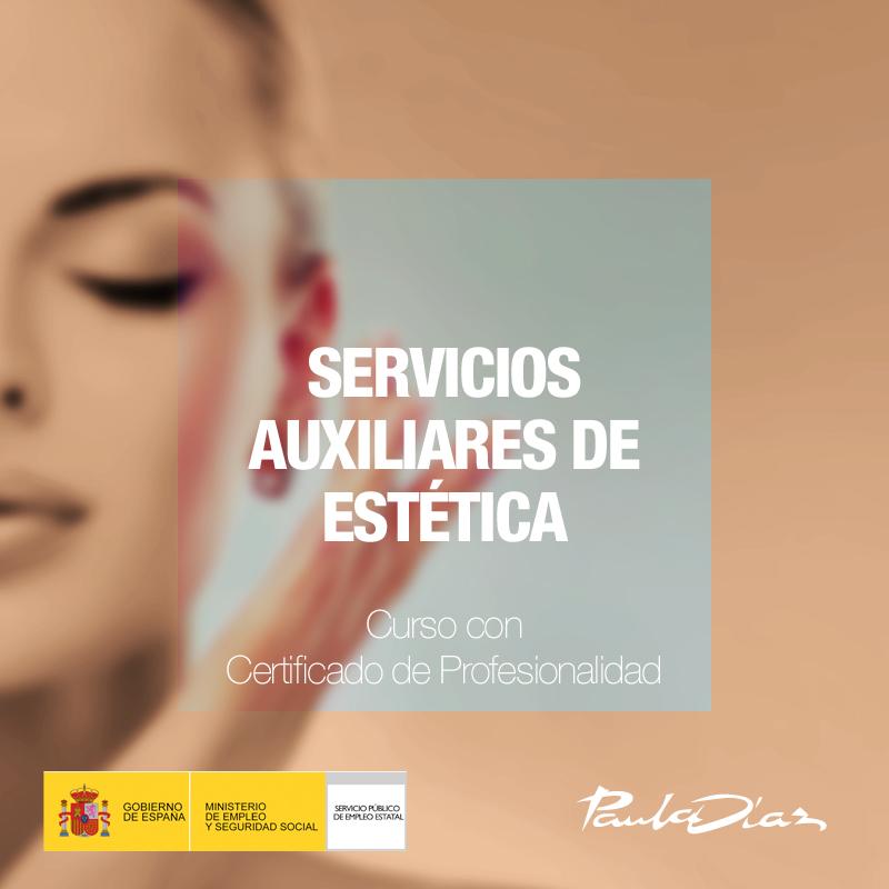 Curso Servicios auxiliares de estética Paula Díaz