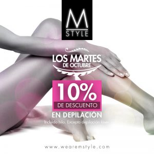 10% depilación en Minimal Style