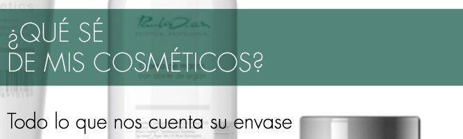 """Artículo """"Qué sé de mis cosméticos"""" - Paula Díaz"""