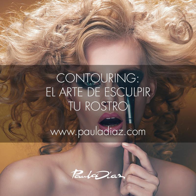 Contouring, el arte de esculpir tu rostro en Paula Díaz