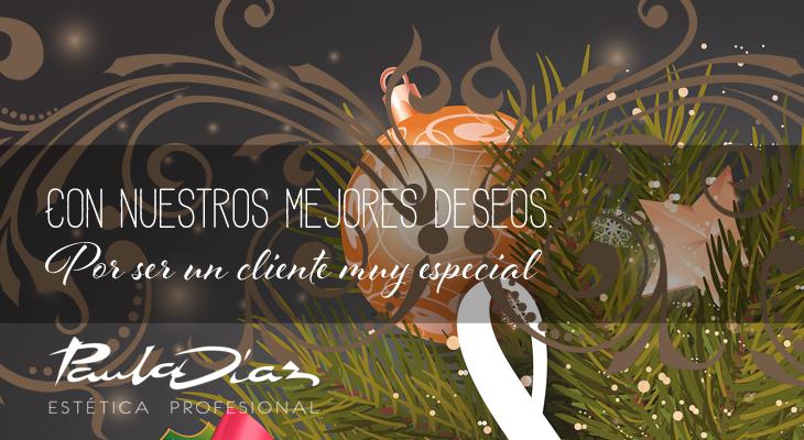 Ejemplo de tarjeta fidelización Navidad Paula Díaz